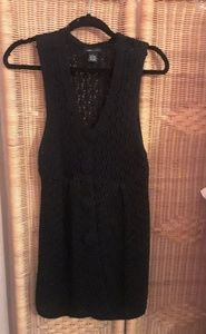bcbgmaxazaria women's sleeveless cardigan sz L